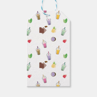 Kawaii Bubble Tea Gift Tags