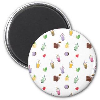 Kawaii Bubble Tea Magnet