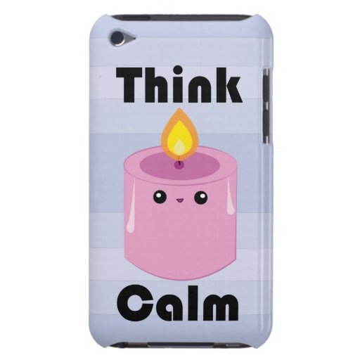 Kawaii Candle Think Calm iPod case iPod Touch Cases