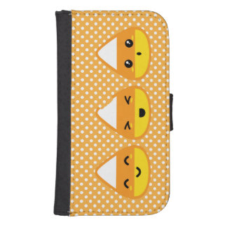Kawaii Candy Corn Samsung Wallet Case Galaxy S4 Wallet Cases