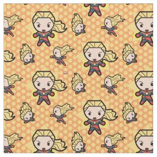 Kawaii Captain Marvel Photon Engery Fabric