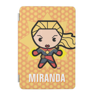 Kawaii Captain Marvel Photon Engery iPad Mini Cover