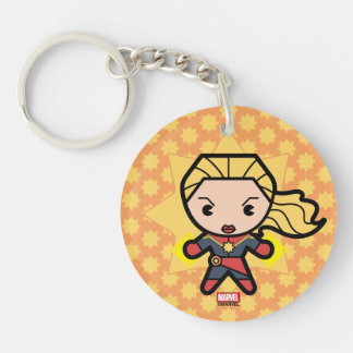 Kawaii Captain Marvel Photon Engery Keychain