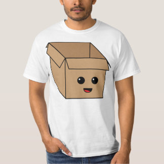 Kawaii Cardboard Box T-Shirt