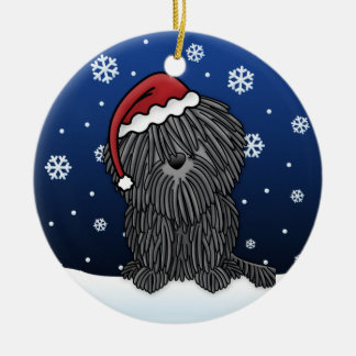 Kawaii Cartoon Puli Christmas Ornament