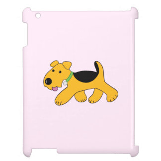 Kawaii Cartoon Puppy Dog iPad Case