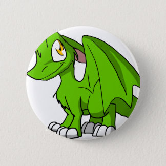 Kawaii Cartoon Recolourable SD Furry Dragon Button