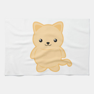 Kawaii Cat Kitchen Towel