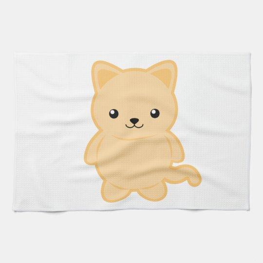 Kawaii Cat Kitchen Towel