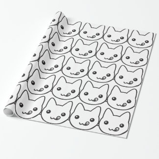Kawaii Cat Wrapping Paper