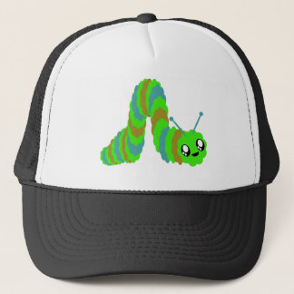 KAWAII CATERPILLAR SWEET FUZZY FRIEND TRUCKER HAT