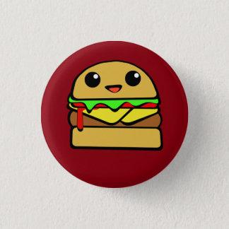 Kawaii Cheese Burger 1 Inch Round Button