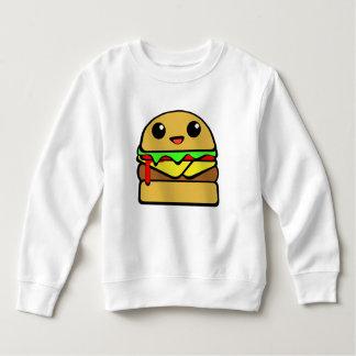 Kawaii Cheeseburger Character Sweatshirt