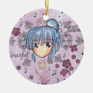 Kawaii Chibi Elegant PlumBlossom Ume Ornament