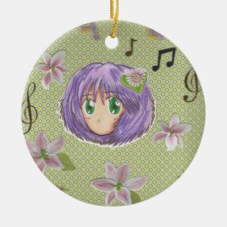 Kawaii Chibi Lily Flower Yuriko Ornament