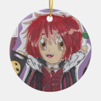 Kawaii Chibi Vampire Lyle Halloween Ornament