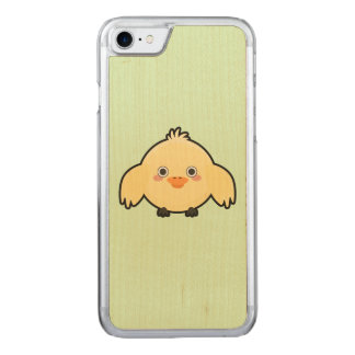Kawaii Chick Carved iPhone 7 Case