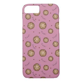 Kawaii Chocolate Chip Cookies iPhone 7 Case