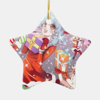Kawaii Christmas Christmas Tree Ornament
