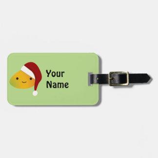 Kawaii Christmas Manog Bag Tag