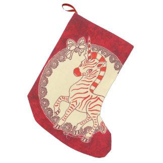 Kawaii Christmas Snowman Small Christmas Stocking