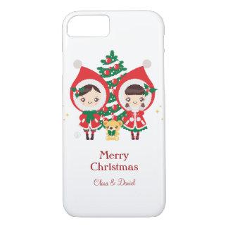 Kawaii Clara - Christmas iPhone 7 Case