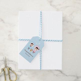 Kawaii Clara - Winter (blue) Pack Of Gift Tags