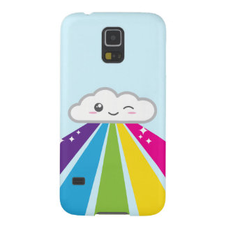 Kawaii Cloud and Rainbow Samsung Case Cases For Galaxy S5