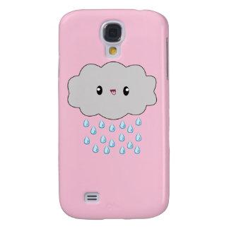 Kawaii Cloud Let It Rain! Vivid case Samsung Galaxy S4 Case