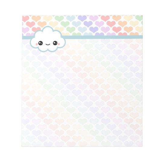 Kawaii Cloud Notepad