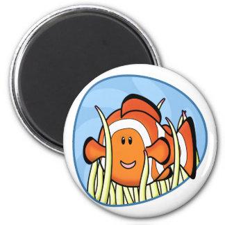 Kawaii Clownfish Magnet
