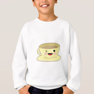 Kawaii coffee cup sweatshirt