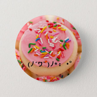 Kawaii Cookie 2 Inch Round Button