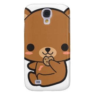 Kawaii Cookie Bear Galaxy S4 Covers