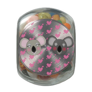 Kawaii cookie jar with lots of love