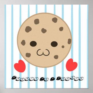 Kawaii Cookie Poster