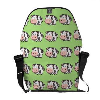 Kawaii Cow Courier Bag