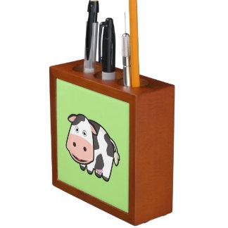 Kawaii Cow Desk Organizer