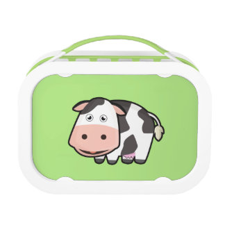 Kawaii Cow Lunch Boxes