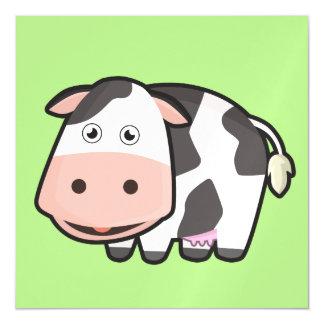 Kawaii Cow Magnetic Card