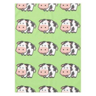 Kawaii Cow Tablecloth