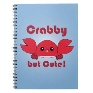Kawaii Crabby but Cute notebook
