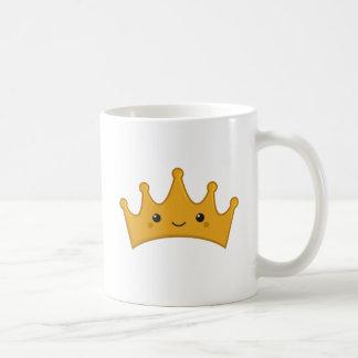 Kawaii Crown Coffee Mug