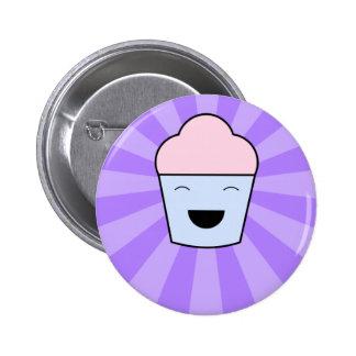 Kawaii Cupcake Button 2 Inch Round Button
