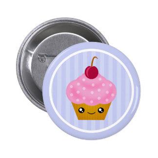 Kawaii Cupcake Cherry Pin