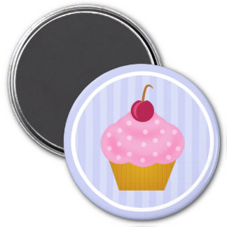 Kawaii Cupcake Cherry Magnet