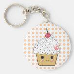 Kawaii Cupcake in Polka Dots