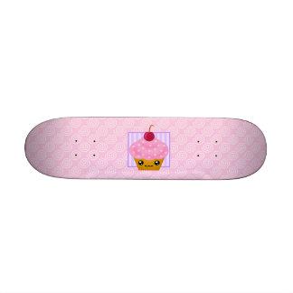 Kawaii Cupcake Skateboard Deck