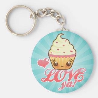 Kawaii Cuppy Cake Keychains