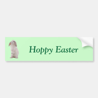 Kawaii Cute Bunny Rabbit Bumper Sticker